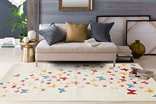 Rugshop Butterfly Pattern 10 Multi product image