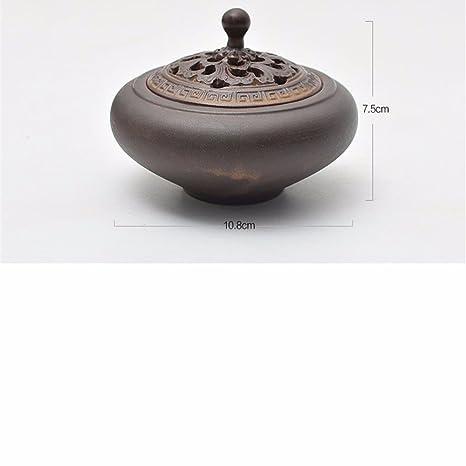 LOSTRYY Bobina antigua estufa de cerámica inicio oferta Buda sala interior aloes incienso Sándalo estufa