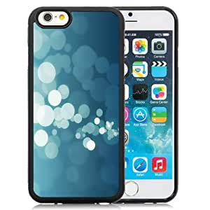 New Personalized Custom Designed For iPhone 6 4.7 Inch TPU Phone Case For Blue and White Bokeh Phone Case Cover