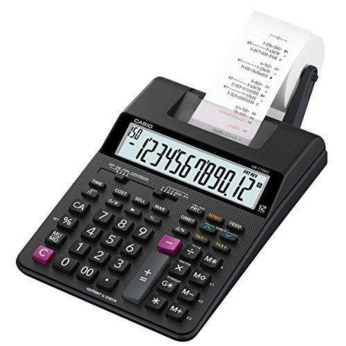 Casio HR-170RC Mini Desktop Printing Calculator by Casio (Image #1)