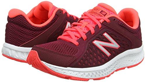 Running pink W420v4 Donna Scarpe black New Rosa Balance tZUwqZYC