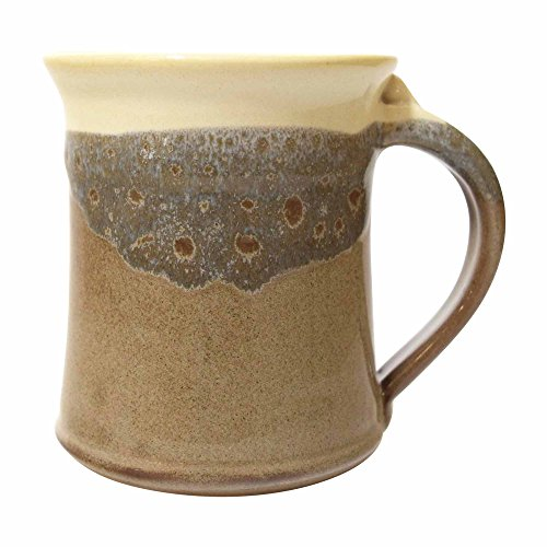 Clay In Motion Handmade Ceramic Medium Mug 16oz – Desert Sand