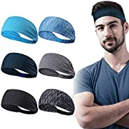 Dreamlover Sweat Bands for Women, Workout Headbands for Men, Yoga Headbands, Winter Headbands for Sport, Fitne