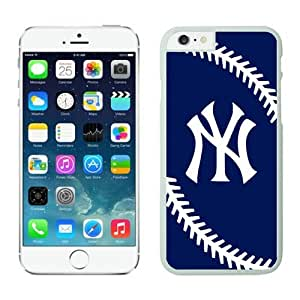 New York Yankees.jpg iPhone 6 Cases 044 White_58456 iphone case- Anti-Scratch Hard Case for Iphone 6 4.7(inch)