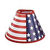 American Flag Recovery Dog Cat Cone E-Collar, Adjustable Pet Cone E-Collar for Cats and Dogs Protective Touching Stitches