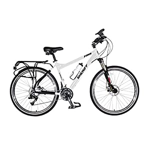 Force Pursuit Police Bicycle, 27.5 inch wheels, four frame sizes available in black or white
