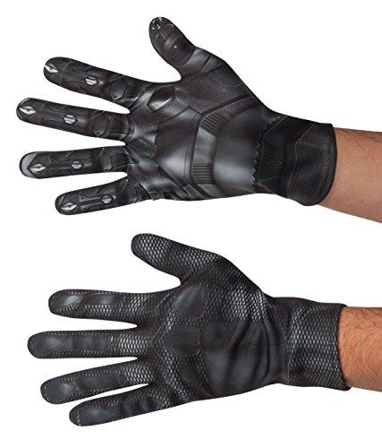 [Marvel Men's Captain America: Civil War Black Panther Value Gloves, Multi, One Size] (Black Panther Costume Marvel)