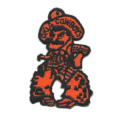 NCAA Oklahoma State Cowboys Patch Embroidered Iron On Unique Genuine Vintage (Ncaa Embroidery Designs compare prices)