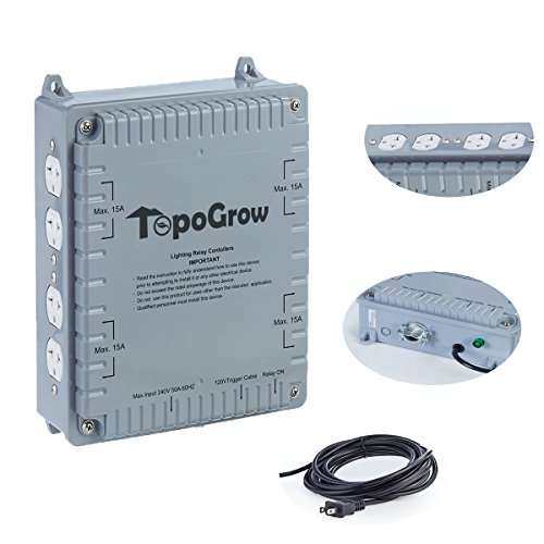 Hydro Plus 8-Light Grow Light Controller System for Hydroponic Indoor Growing by Hydro Plus
