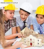Puzzled 3D Puzzle The Alamo Wood Craft Construction