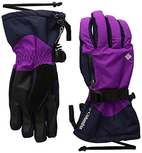 Columbia Women's Bugaboo Interchange Gloves, Bright Plum/Ebony Blue, Medium
