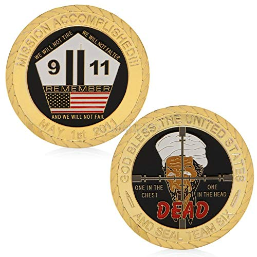 (Challenge Coin - Coin God Bless The United States 911 Attack Commemorative Collectible Challenge H0vh - Thank Trump Airborne Green Display Corrections Money Patch Lapel Jeep Opener Brother Rac)