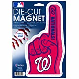 MLB Washington Nationals Die Cut #1 Finger Logo Magnet