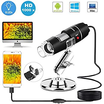 2117b0ceed97 Amazon.com   Kenable Veho Discovery VMS-001 USB Microscope with 200x ...