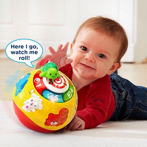 51p5wNjoDeL - VTech Wiggle & Crawl Ball Toy