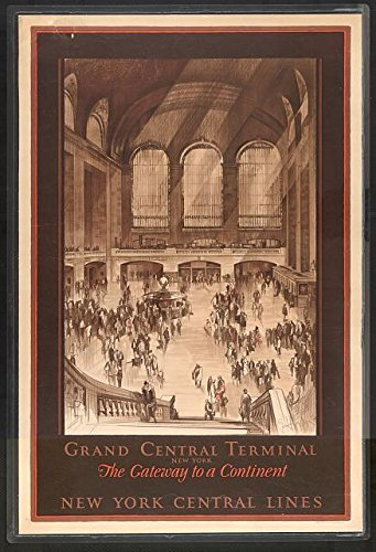Infinite Photographs Photo: Grand Central Terminal,New York Central Lines,NY,1920,Waiting Room,Train Station