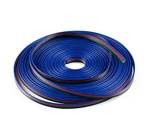 Samyo LED Strip RGB Extension Cable Line 4 Color 5m 16.4FT C