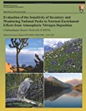 Evaluation of the Sensitivity of Inventory and Monitoring National Parks to Nutrient Enrichment Effects from Atmospheric Nitrogen Deposition Chihuahua, T. J. Sullivan, 1491079479