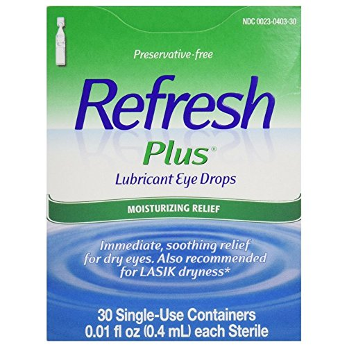 REFRESH PLUS LUB EYE DROPS 30
