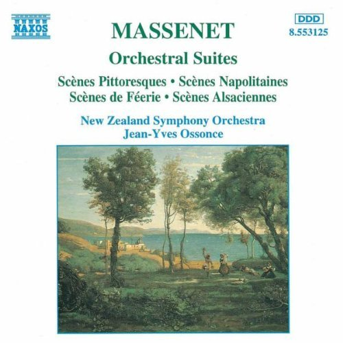 Massenet - Orchestral Suites Nos 4-7 - 'Sc???nes pittoresques' etc by New Zealand Symphony Orchestra (1995-04-11) by