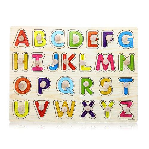 Facilla jouet jeux educatif apprentissage 26 lettres - Jouet alphabet ...
