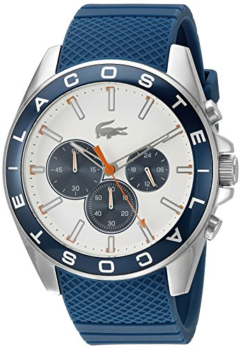 Lacoste Men's 2010854 Westport Analog Display Japanese Quartz Blue Watch