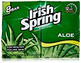 Irish Spring Aloe Bar Soap, 8 ct
