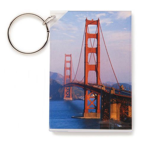 Darice Bulk Buy DIY Crafts Acrylic Keychain Frame Clear 2.25 x 3.25 inches (6-Pack) 2701-42 Inc.