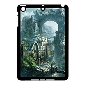 [H-DIY CASE] For Ipad Mini Case -Fairy Village & Castle-CASE-19