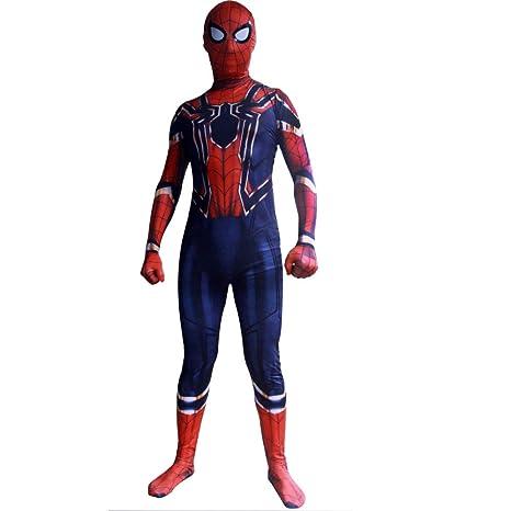 KOUYNHK Disfraz Infantil De Spiderman Niño,Halloween ...