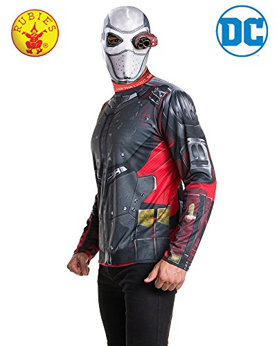 Rubie's Costume Men's Suicide Squad Deadshot Costume Kit, As Shown, Teen -