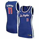 Jamal Crawford Los Angeles Clippers NBA Women's Blue Replica Jersey (2XL)