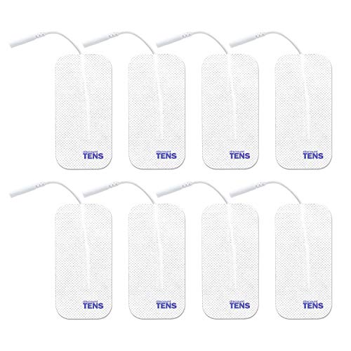 (TENS Electrodes - Value Wired 2x4 Replacement Pads for TENS Units - 8 TENS Unit Electrodes - 2