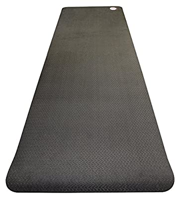 Namaste Nation Yoga TPE, Eco Friendly Yoga Mat, Anti-bacterial, Non-slip, Extra Long, Lightweight, Mat Strap