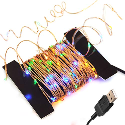 BrightTouch LED Fairy Lights - String, Rope (Multicolored)