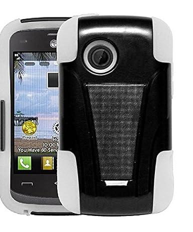 Amazon.com: LG 306 g, LF 4 en 1 Bundle – Funda Gel TPU ...