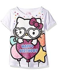 Hello Kitty - Playera de cumpleaños para niña
