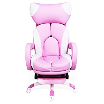 buy online 0550e 35101 Amazon.com: Executive Chairs Household Pink Computer Chair ...