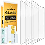 Image of [3-PACK] - Mr Shield For Samsung Galaxy Note 4 [Tempered Glass] Screen Protector [0.3mm Ultra Thin 9H Hardness 2.5D Round Edge] with Lifetime Replacement Warranty