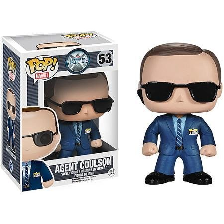 Funko Pop! Marvel Agents of S.H.I.E.L.D Agent Coulson Vinyl Figure