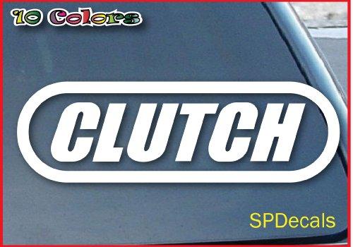 Clutch Hard Rock Band Car Window Vinyl Decal Sticker 5