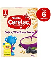 NESTLÉ CERELAC Oats & Wheat with Prune Baby Cereal Stage 2 – 6x200g