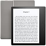 "All-New Kindle Oasis E-reader – Graphite, 7"" High-Resolution Display (300 ppi), Waterproof, Built-In Audible, 32 GB, Wi-Fi - with Special Offers"