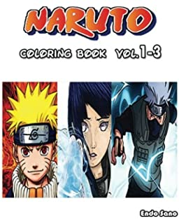 NARUTO Coloring Book Vol1