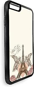 ديكالاك غطاء حماية للاجهزة  ايفون 8 بلس بتصميم رومانسي
