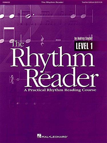 Hal Leonard The Rhythm Reader - A Practical Rhythm Reading Course Reproducible Pak