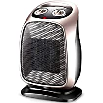 Office Home Bedroom Portable Space Heaters Adjustable Thermostat Tip-Over And Overheating Protection (Color : A)