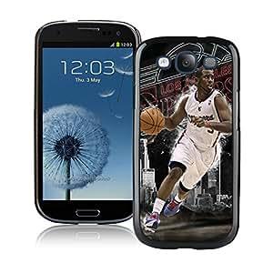 New Custom Design Cover Case For Samsung Galaxy S3 I9300 LA Clippers Chris Paul 4 Black Phone Case