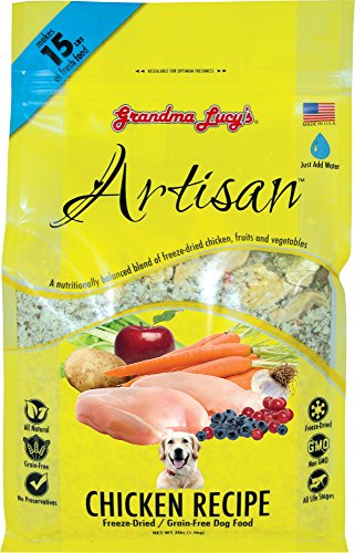 Grandma Lucy's Freeze-Dried Grain-Free Pet Food: Artisan Chicken 3lbs