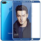 BestTalk Honor 9Lite ,Honor 9 Lite Edge To Edge 5D Ultra HD Amazing+ Full Scree Coverage Premium Tempered Glass For Huawei Honor 9Lite. (Blue)
